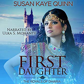 First Daughter (Royals of Dharia #3) on Audiobook