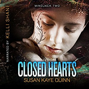 Closed Hearts (Mindjack: Kira #2) on Audiobook