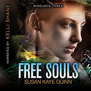 Free Souls (Mindjack: Kira #3) on Audiobook