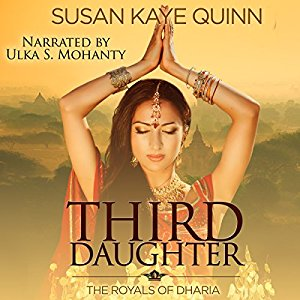 Third Daughter (Royals of Dharia #1) on Audiobook