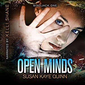 Open Minds (Mindjack: Kira #1) on Audiobook