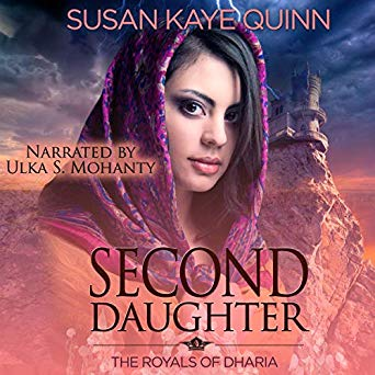 Second Daughter (Royals of Dharia #2) on Audiobook
